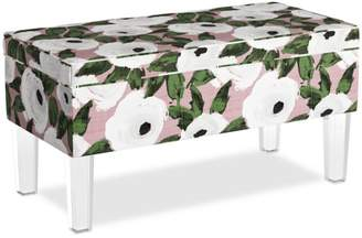 Collins Storage Bench With Acrylic Legs - 100% Exclusive