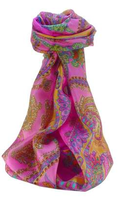 Mulberry Silk Traditional Long Scarf Shipra by Pashmina & Silk