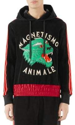 Gucci Magnetismo Animale Chenille Hoodie