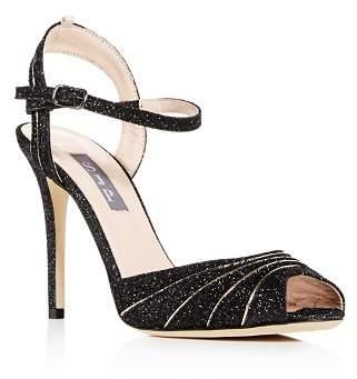 Sarah Jessica Parker Women's Monroe Glitter High-Heel Sandals