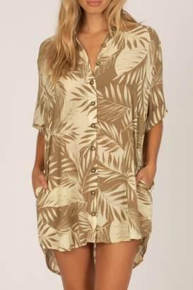 Amuse Society Shady Palms Dress