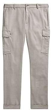 Ralph Lauren Purple Label Men's Linen Cargo Trousers