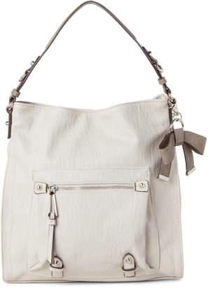 Jessica Simpson Parchment & Fog Tatiana Hobo Bag