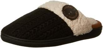 Dearfoams Women's Sweater Knit Closed Toe Scuff Slipper