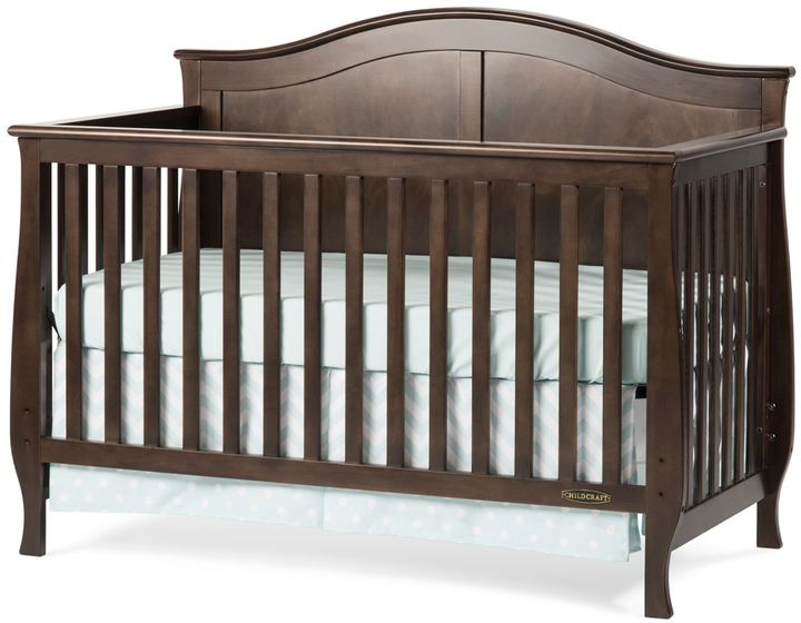 Child Craft Child CraftTM Camden 4-in-1 Convertible Crib in Slate