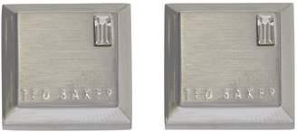 Ted Baker Golcuff corner crystal cufflink
