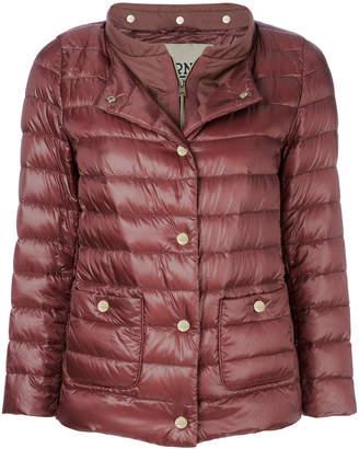 Herno layered look padded jacket