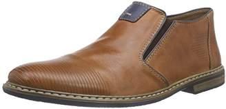 Rieker Men's 13451 Ankle Boots, Brown (Brandy/Royal 24)
