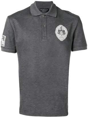 Alexander McQueen logo patch polo shirt