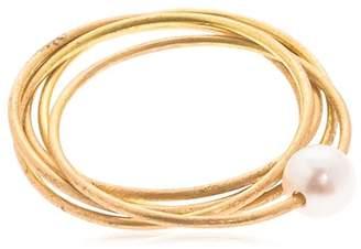 Lia Di Gregorio 5 Cerchi Gold Ring