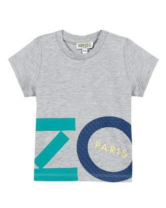 Kenzo Multicolored Logo Lettering Print T-Shirt, Size 12-18 Months