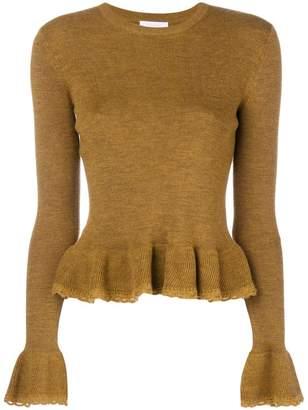 See by Chloe peplum knit jumper