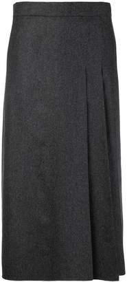 Lanvin wool pencil skirt
