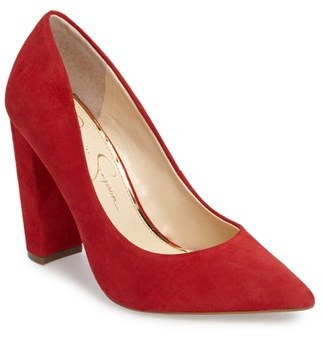 Women's Jessica Simpson Tanysha Pointy Toe Pump $97.95 thestylecure.com
