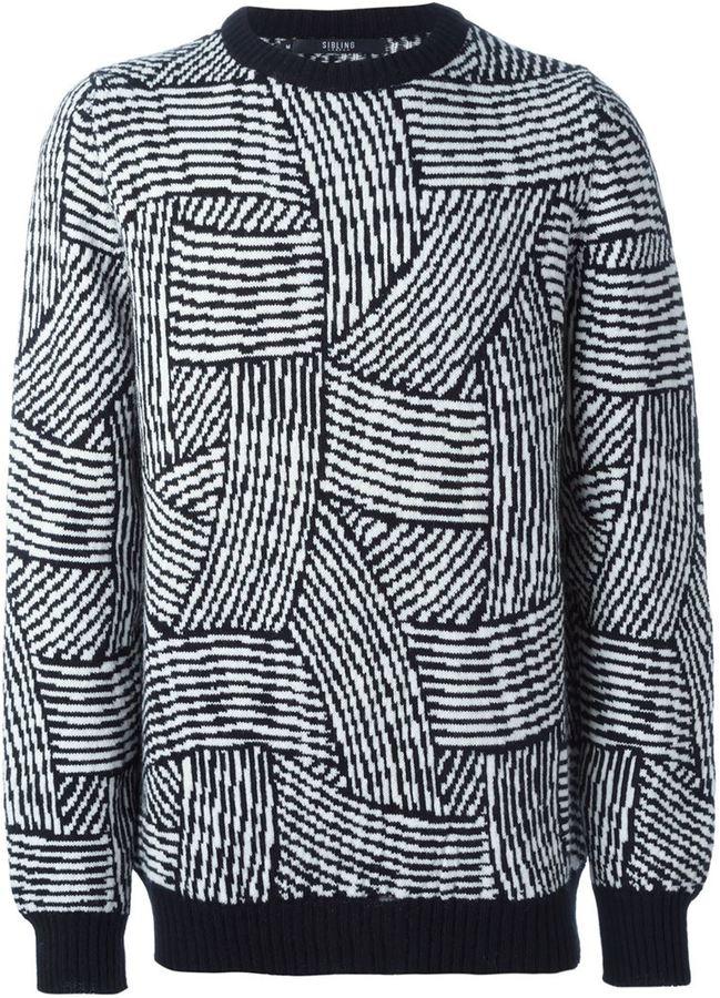 SIBLING & Jim Lambie sweater
