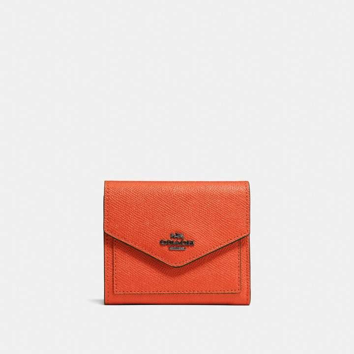 Coach Small Wallet - MANDARIN/DARK GUNMETAL - STYLE