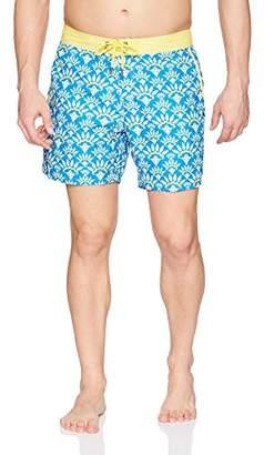 Mr.Swim Mr. Swim Men's Woven-Print Swim Trunk