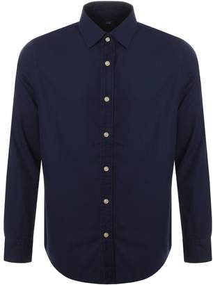 G Star Raw Long Sleeved Bristum Shirt Blue