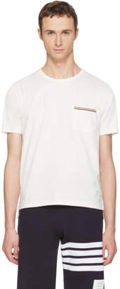 Thom Browne Off-White Pocket T-Shirt