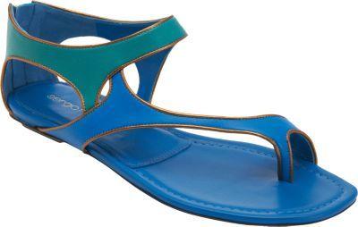 Sergio Rossi Asymmetric Toe Ring Sandal