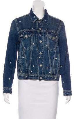 Amo Embroidered Denim Jacket