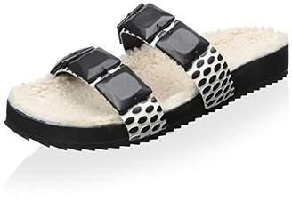 Loeffler Randall Women's Two-Strap Cork Sandal