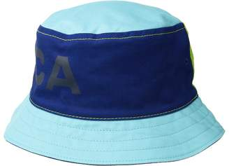 Nautica Reversible Large Logo Print Bucket Hat Caps