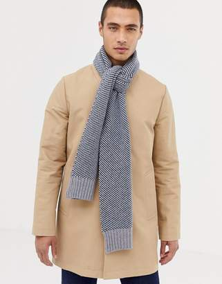 Ted Baker St Just scarf with stripe