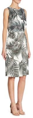 Max Mara Max Mara Ambra Tropical Jersey Dress
