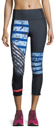 Under Armour Mirror High-Rise Printed Crop Leggings