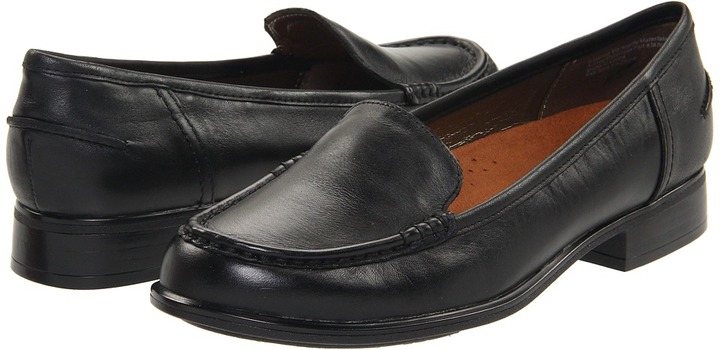 Hush Puppies Blondelle (Black Leather) - Footwear