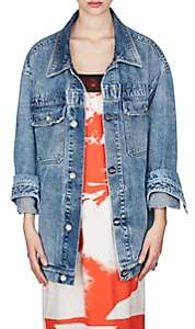 Maison Margiela Women's Denim Oversized Jacket - Blue