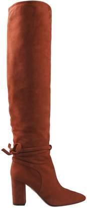 Aquazzura Tie Detail Over-the-knee Boots