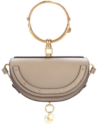 Chloé Nile Minaudiere leather crossbody bag