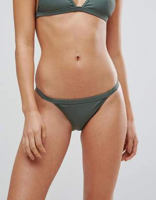 boohoo Clean Strap Side Bikini Brief