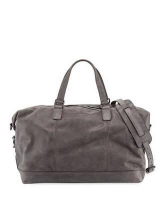 Frye Men's Oliver Suede Overnight Bag