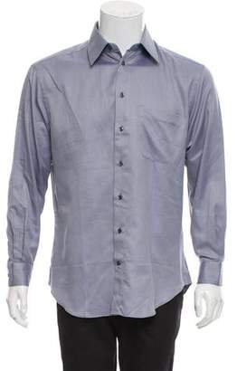 Canali French Cuff Button-Up Shirt w/ Tags