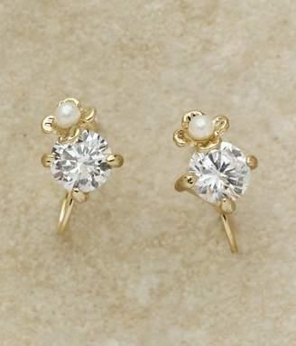 flower&stoneイヤリング