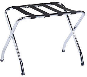 Honey-Can-Do Chrome Folding Luggage Rack