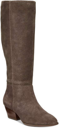 Style&Co. Style & Co Izalea Suede Dress Boots, Women Shoes