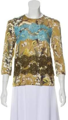 Dolce & Gabbana Silk Printed Top