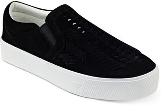Marc Fisher Dexie Slide-On Sneakers Women's Shoes $79 thestylecure.com
