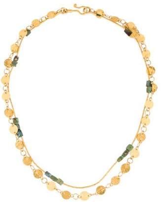 Gurhan 24K Lush Flake Necklace