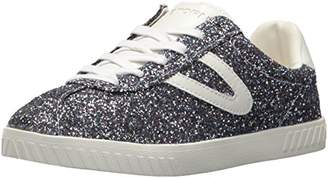 Tretorn Womens Camden 5 Silver Multi/Black/Black 9.5 B - Medium