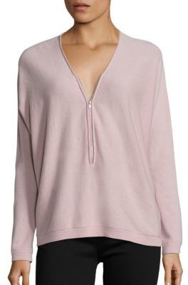 The Kooples V-Neck Cashmere Sweater $395 thestylecure.com