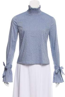 Intermix Embroidered Woven Top