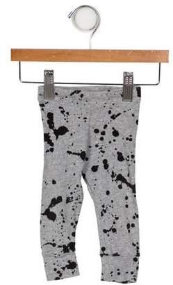 Nununu Boys' Splatter Pant Knit Leggings