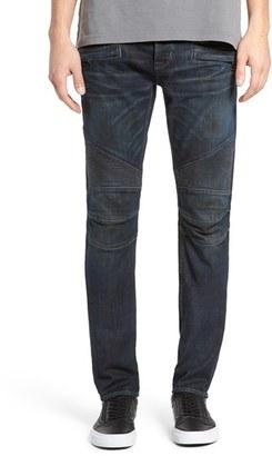 Men's Hudson Jeans 'Blinder' Skinny Fit Moto Jeans $295 thestylecure.com