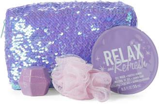 Fashion Angels Girls 7-16) Good Vibes 4-Piece Magical Pouch Bath Set
