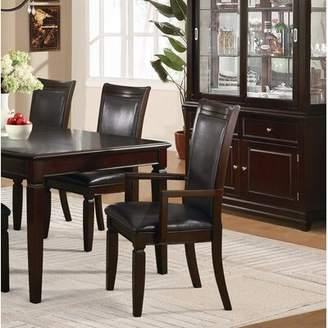 Ellington Leather Goods MYCO Furniture Espresso Arm Chair MYCO Furniture